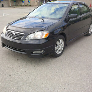 2005 Toyota Corolla s, certified, solid, clean, ready to go, air