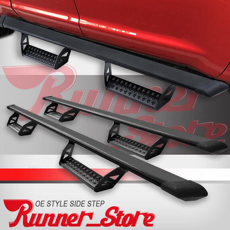 "2002-2008 DODGE RAM 1500 Quad Cab 4/"" Black Oval Nerf Bar Side Step Running Board"