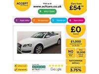 Audi A3 Cabriolet 1.2TFSI ( 105ps ) 2012MY FROM £54 PER WEEK