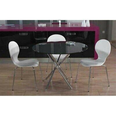 Mesa de cocina o salon mikado negra dos tamaños