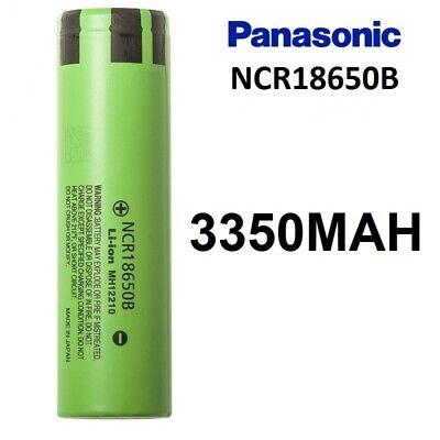 2X PILA RECARGABLE PANASONIC 18650B 3350MAH ORIGINAL 3,6V 18650 NCR18650B PILAS