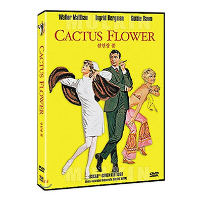 Cactus Flower  1969  Dvd  Gene Saks  Ingrid Bergman  Goldie Hawn  Walter Matthau