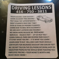 DRIVING LESSONS.