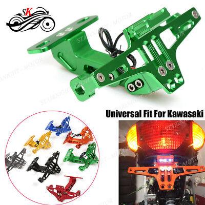 Motorcycle Universal CNC Fender Eliminator License Plate Bracket For Kawasaki (Kawasaki Fender Eliminator)