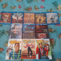 DVD, BLU RAY MOVIES, SITCOMS