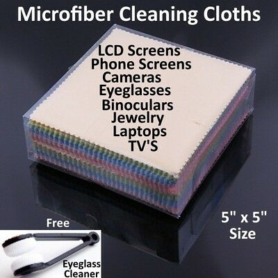 Laptop Lcd Screen Specs (Microfiber Cleaning Cloth Laptop Camera Lens Eyeglasses TV Phone LCD Screen Lot  )