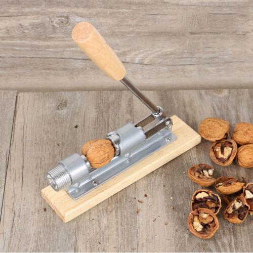 Home Kitchen Nut Cracker Pecan Walnut Opener Sheller Gadget