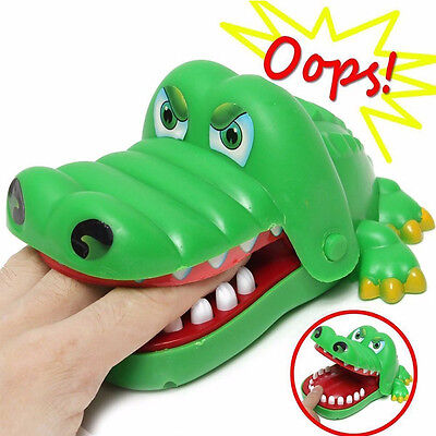 Cute Large Crocodile Mouth Dentist Bite Finger Game Funny Toy Kids Children Gift](Funny Kids)