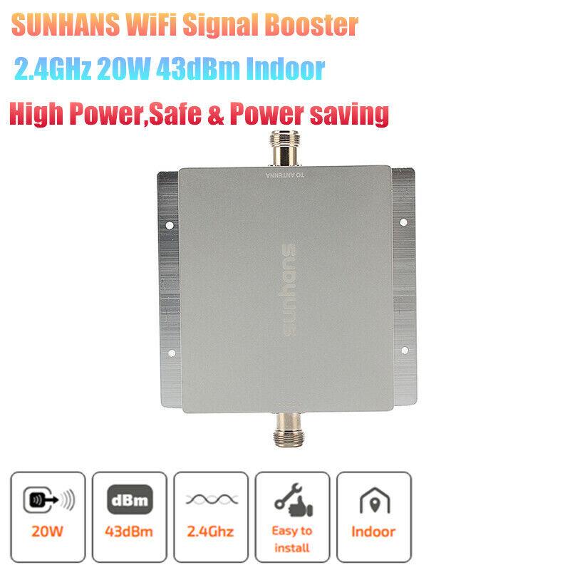 Sunhans Wireless Network WiFi Indoor Signal Booster 20W 43dB