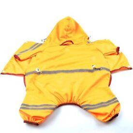 Small Dog Yellow Rain Mac - BRAND NEW