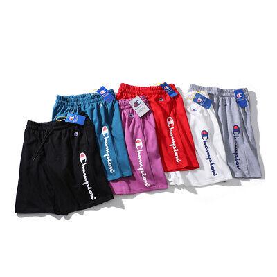 Champion Damen Shorts (Champion Shorts Herren Damen Brief Kurze Hose Sport Short knielang Sweat Shorts)