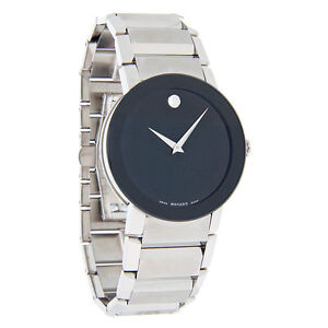 Movado Sapphire Men watch White or black Dial Used