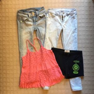 American Eagle and Abercrombie Kids Girl's Lot