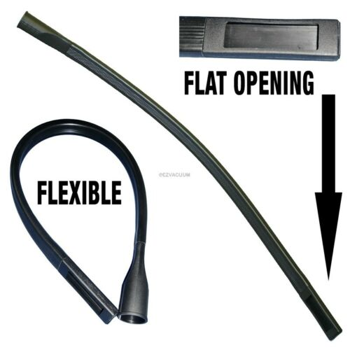 """Flexible Crevice Tool for All 1-1/4"""" Vac Hoses 36"""" With Wide Flat Opening"""