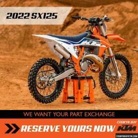 2022 KTM SX125 COMING SOON Motocross Two Stroke 2 SX125 125 SX MX