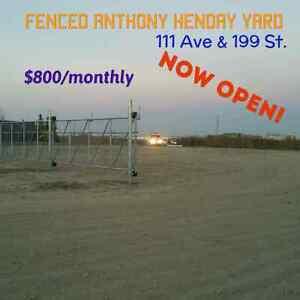 60x80 YARD, Anthony Henday HWY FRONTAGE gravel, 111ave/199St