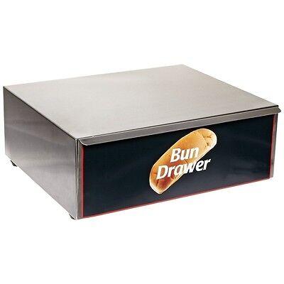 Benchmark Bun Box 10 Dog Grill 65010 Hotdog Roller Grill New