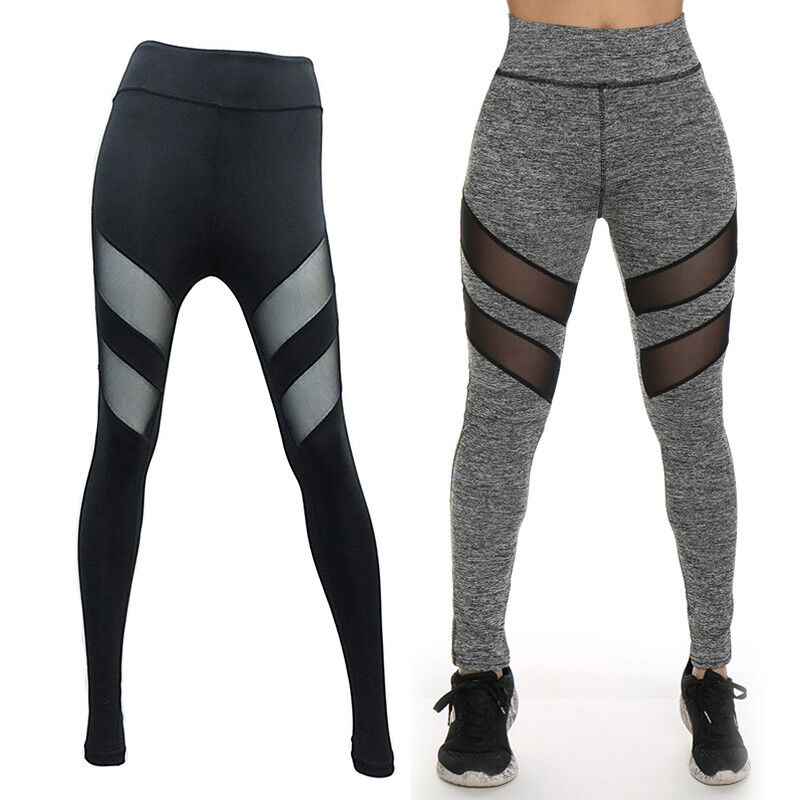 Details about TOP Fashion Ladies Yoga Fitness Running Leggings Gym Exercise  Sports Pants F523 a6854d1b0e0