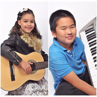 Music Lessons Mississauga - Piano, Guitar, Singing, Drums