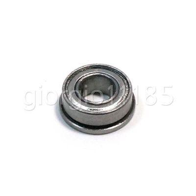 Us Stock 10pcs Fr188zz Metal Shielded Flanged Ball Bearing 14 X 12 X 316