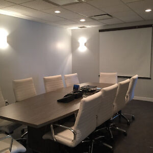 Modern office space for rent near Grant MacEwan