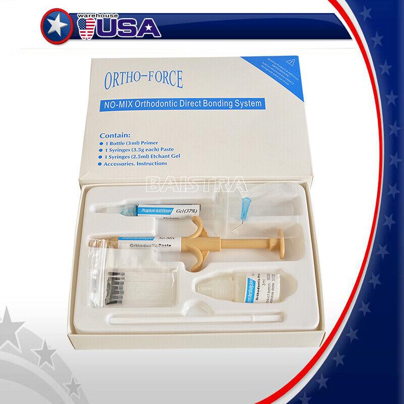 US Dental Orthodontic Adhesive Resin Syringe Paste Kit for B