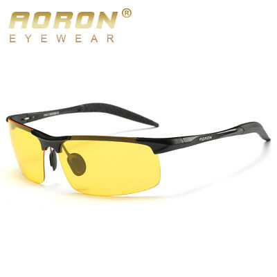Nachtsicht Gläser HD Nacht Anti Glare Leuchtenden Polarisierten Schutzbrillen