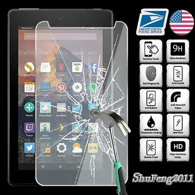 Tempered Trifocals Screen Protector For Amazon Kindle Fire 7 (7th Gen 2017) Tablet