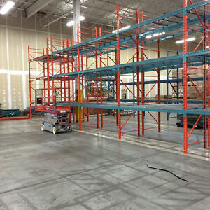 Used Pallet Racking, Shelving, Wire Mesh Decking, Installations