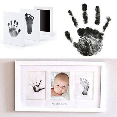Ink Pad Baby Set Hand Fußabdruck Andenken Neugeborenes Handabdruck Geschenk