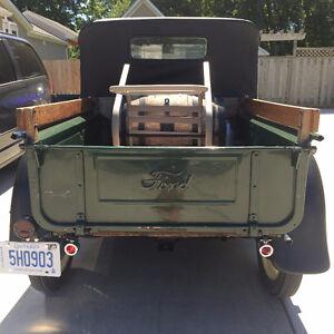 1929 Ford Model A Pickup - Newly Repaired but All Original London Ontario image 3