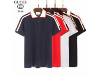Gucci New season Polo - lack White Royal Blue Red - with tags