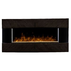 Dimplex Wall Mount Fireplace DWF36G-1482E Dark Expresso NEW