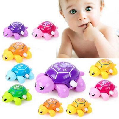 Cute Baby Animal Tortoise Turtle Education Toys Clockwork Wind-up Kids Funny Toy