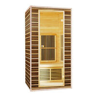 New In Box - Never Used, 2-Person Infrared Sauna