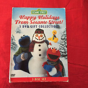 Sesame Street Happy Holidays 3 DVD Set