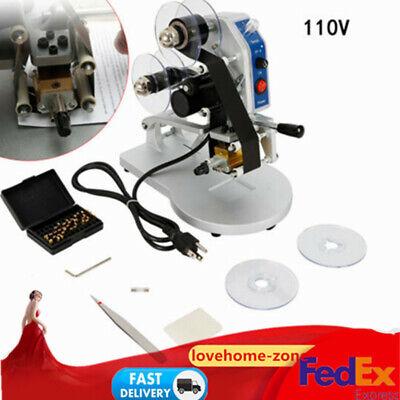Electric Ribbon Coding Machine Hot Foil Stamping Date Code Printer Hot Sale