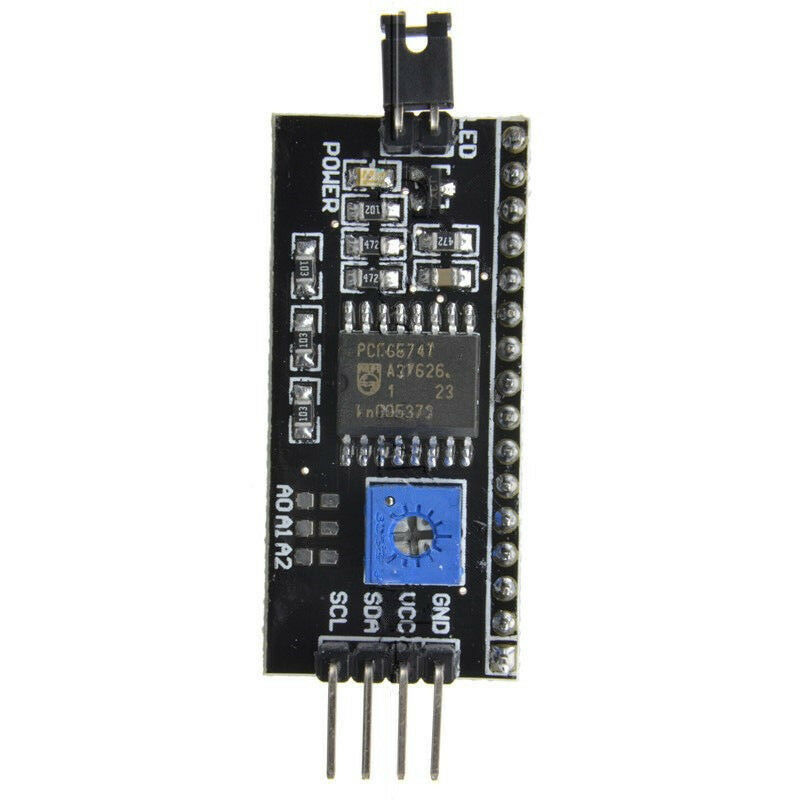 IIC/I2C/TWI/SPI Serial Interface Board Module Port for Arduino 1602LCD Brand New