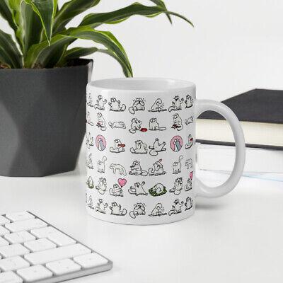 Simons' cat Coffee Latte Mug 11oz 15oz No1. Coffee Latte Mug