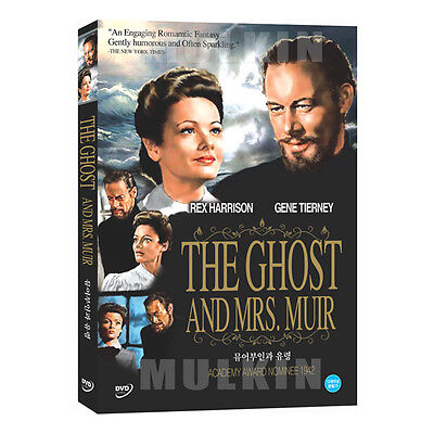 The Ghost And Mrs. Muir (1947) DVD - Joseph L. Mankiewicz (New Sealed)