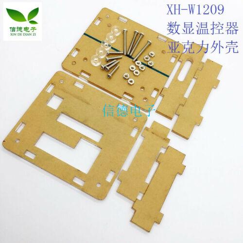 2pcs K29 Xh-w1209 Digital Thermostat Acrylic Shell Protective Shell