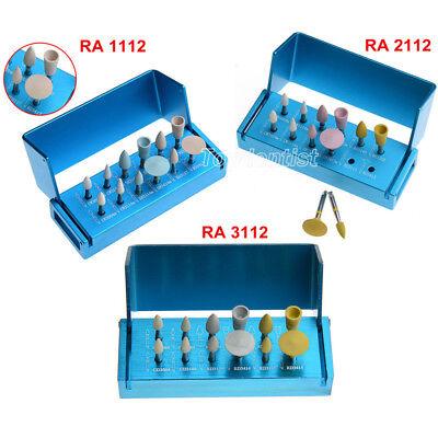 Diamond Porcelain Zirconia Polishing Kit F Dental Clinic Low Speed Contra Angle