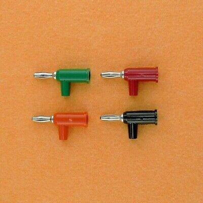 Pomona 4mm Red Black Orange Green Stacking Banana Plugs Set Lot Of 4 New