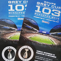 Grey Cup Tickets! Lower Bowl - Sections 107 & 121