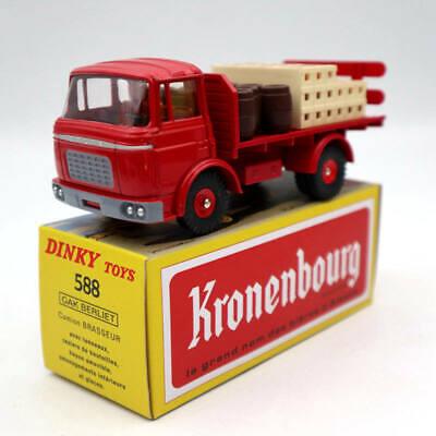 Biertransportwagen Berliet Kronenbourg 1:43 Dinky Toys Diecast Modellauto 588
