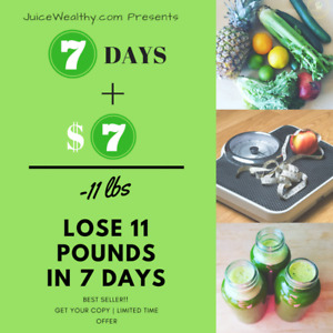 7 + $7 = -11lbs | Lose 7lbs in 7 Days For $7