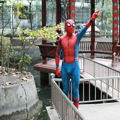 3D Print Spider-Man Homecoming Costume Spiderman Cosplay Superhero Halloween