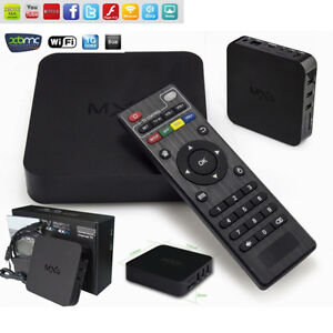 ANDROID TV BOX WITH FREE AIR MOUSE & 1 YEAR WARRANTY