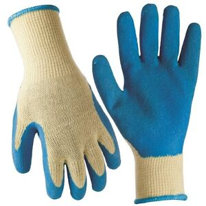 FIRM GRIP General Purpose Latex Coated Work Gloves - Large