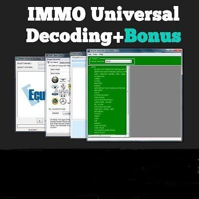 4 Software Dpf Fap Egr Immo Repar Off Delete Ecu Decoding Universal 3 2